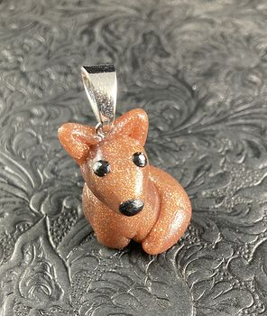 Adorable Fox Polymer Clay Pendant Animal Jewelry #dR9aiJ32cuQ