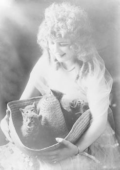 Alma Hanlon with Kittens #uBRywNBo6WM