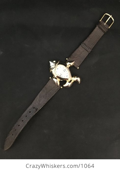 Beautiful Fish Clock Face Xanadu Wrist Watch - #0qJ1jfQYy5U-2