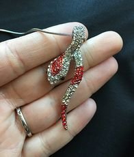 Beautiful Rhinestone Snake Pendant Necklace #jAydFaNzSwo