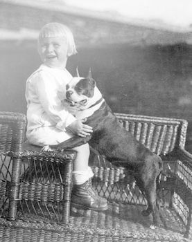 Digital Photo of Gerald Ford with His Boston Terrier #r1dhgp3bPdU