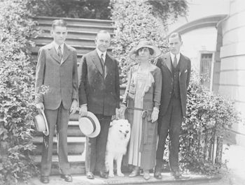 Digital Photo of President and Mrs Coolidge with Their Sons and Dog #UWryKMnhs6M