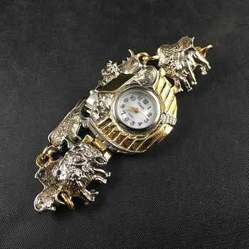 Gorgeous Noahs Ark and Animals Xanadu Quartz Wrist Watch #zIDLkvK5xKY