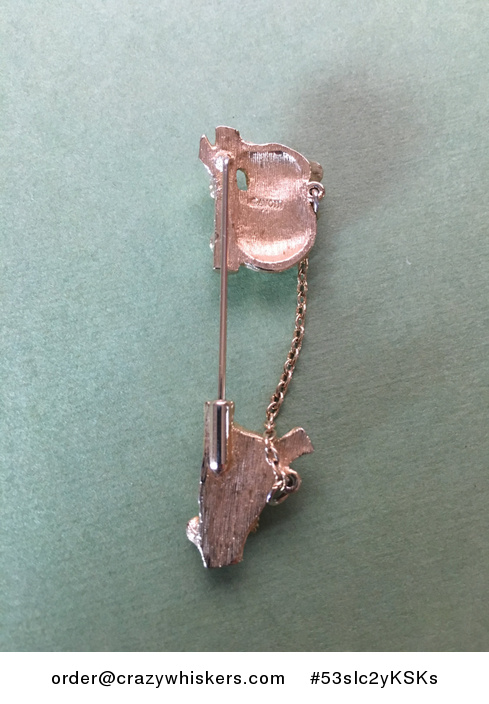 Vintage Gold Tone Avon Koala and Baby Joey Stick Brooch Pin Shipping Included in Price - #53sIc2yKSKs-3
