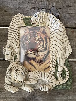 White Tiger Picture Frame #KlO4lyBYQj8